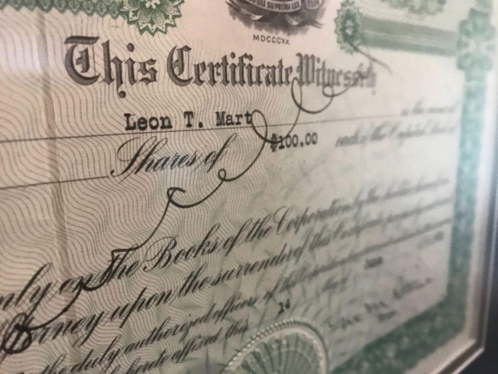 ltmart certificate