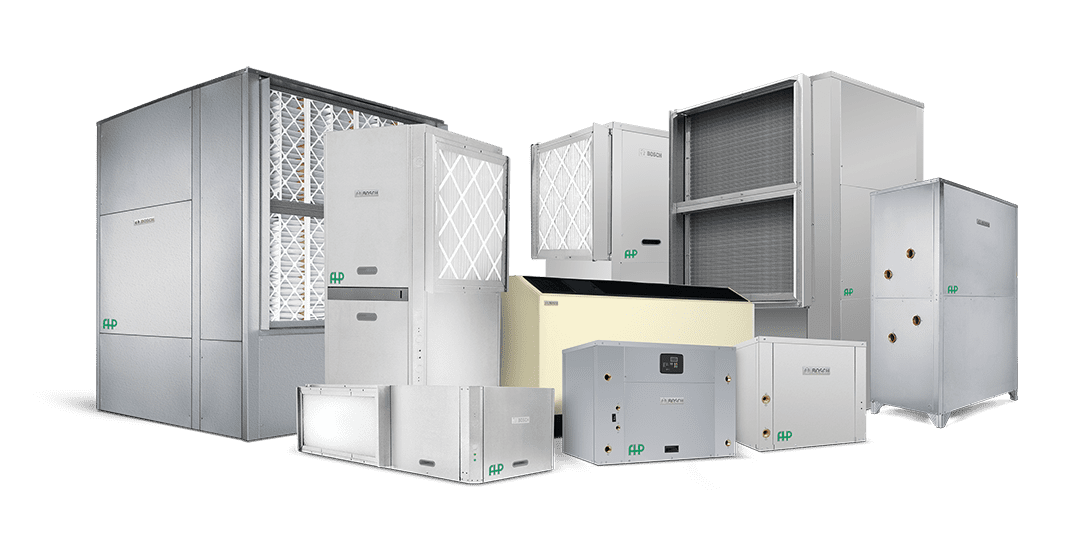 BOSCH - FHP Water-source Heat Pumps | Midwest Machinery