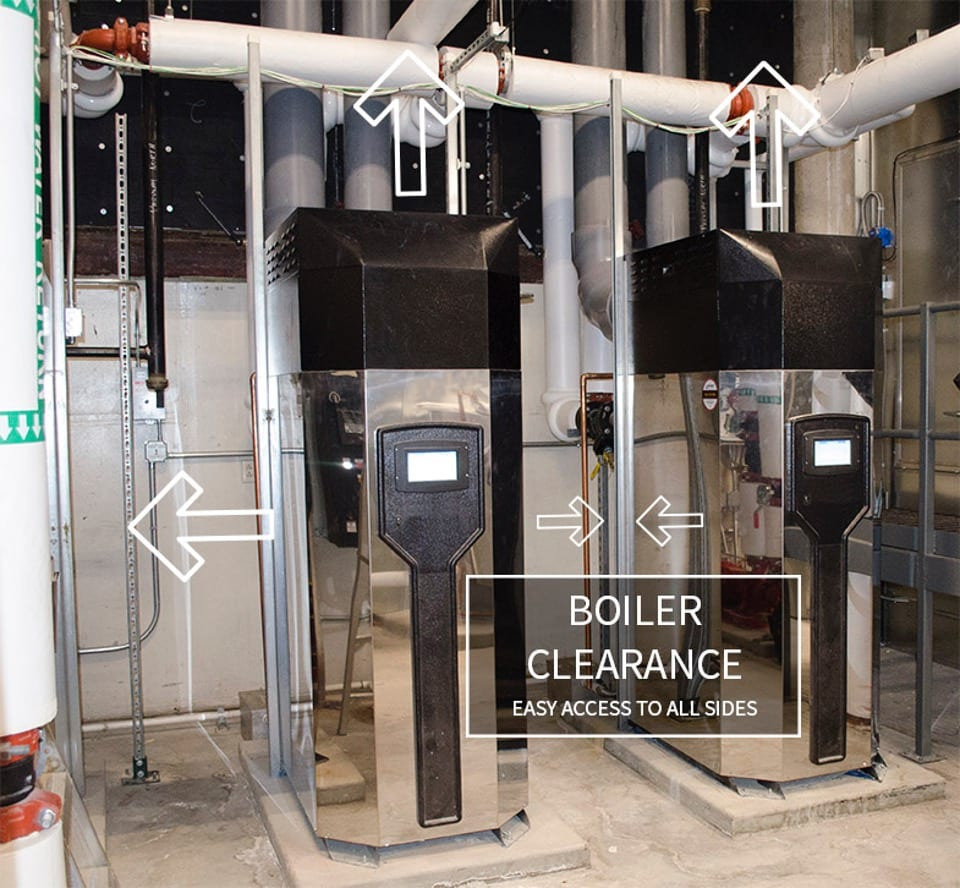 boiler clearance
