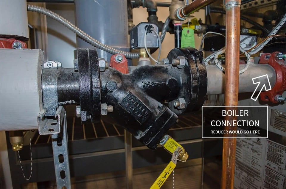 boiler isolation valve