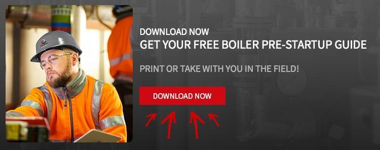 commercial boiler pre startup guide