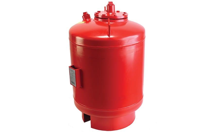 HVAC boiler expansion tank
