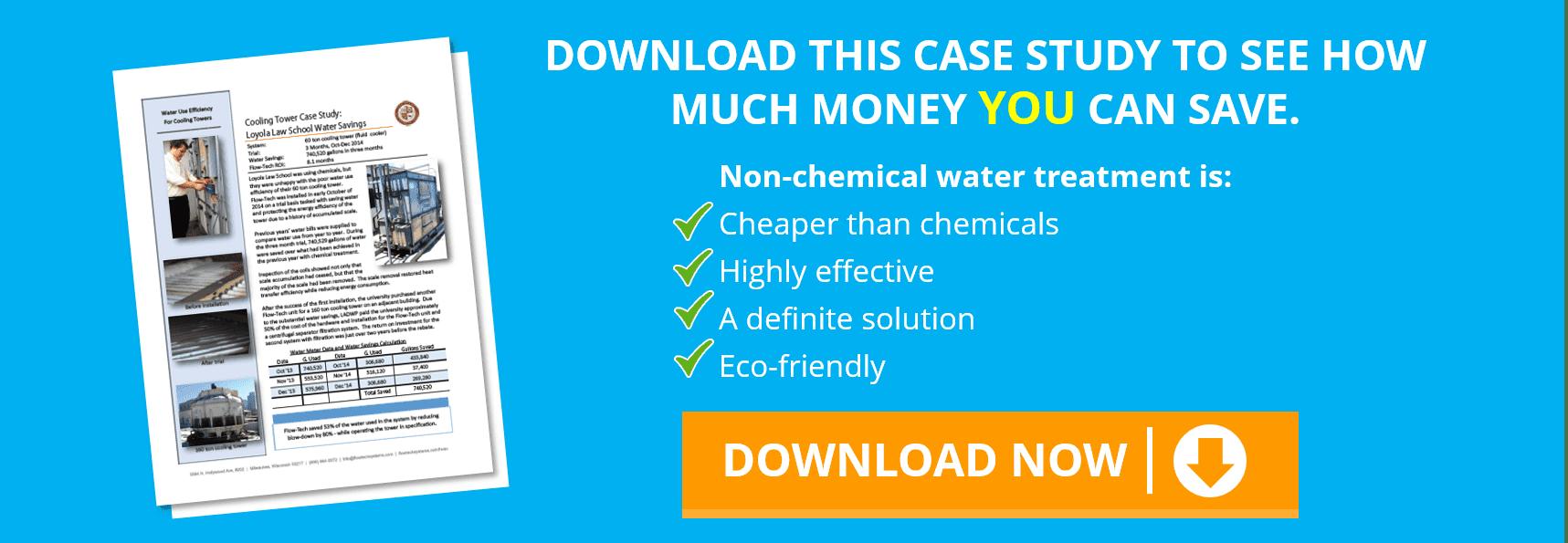 flotech case study water treatment