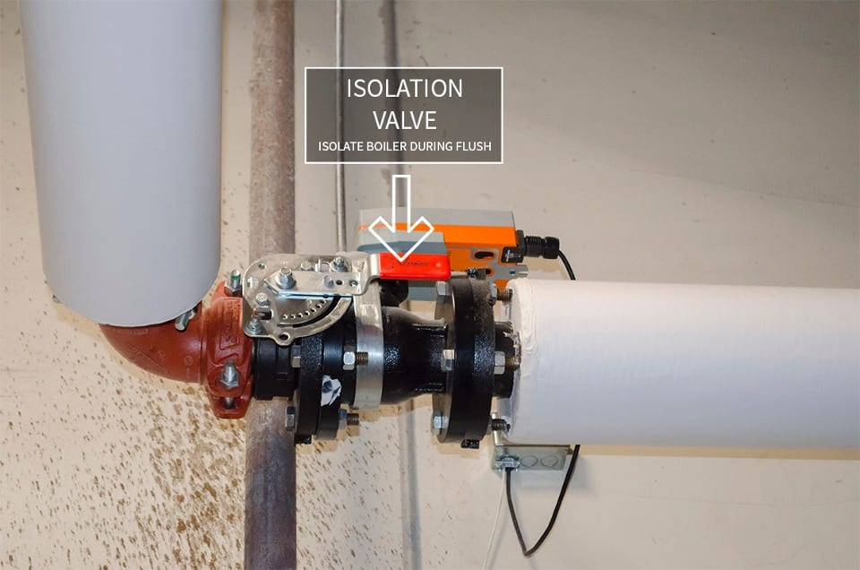 isolation during flush