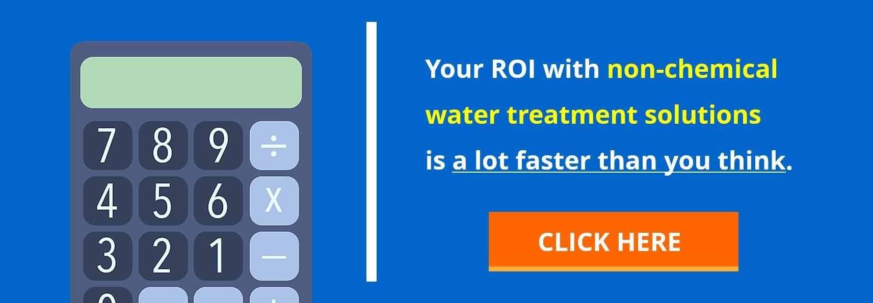 HVAC non chemical water treatment ROI