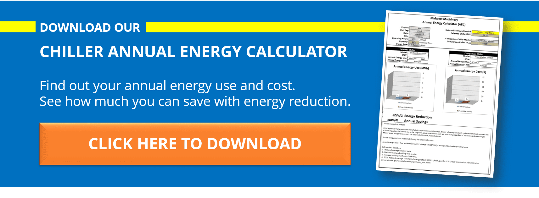 chiller energy calculator