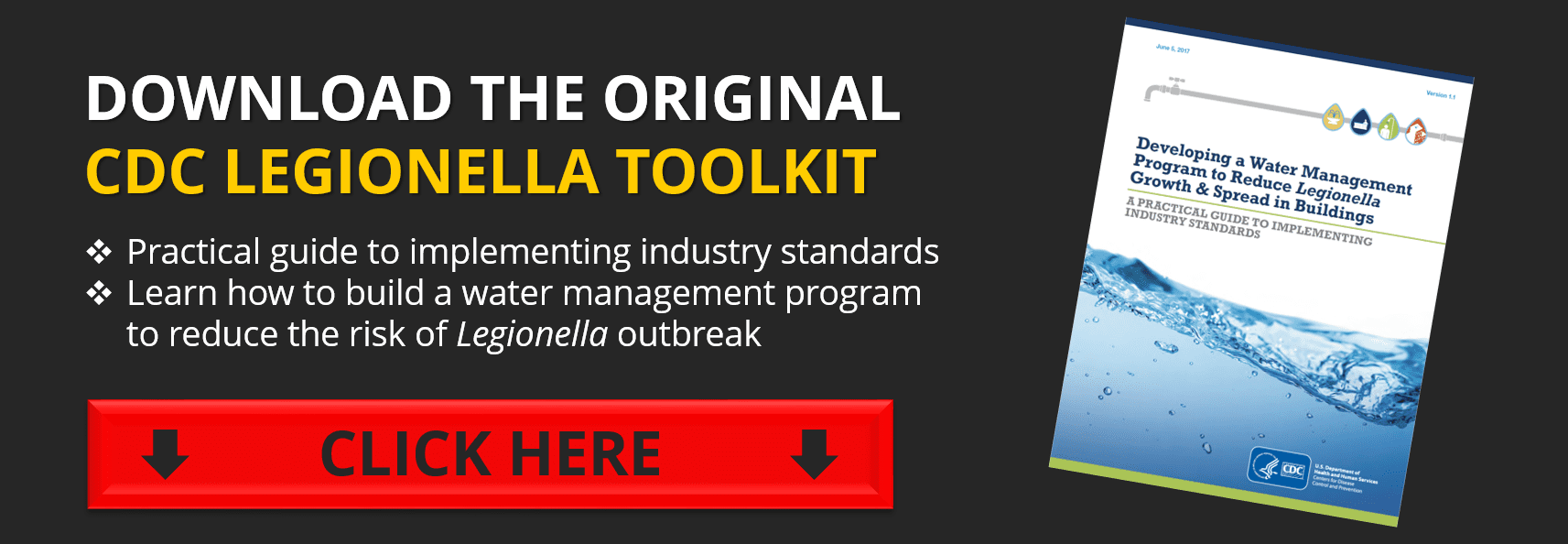 cdc legionella toolkit