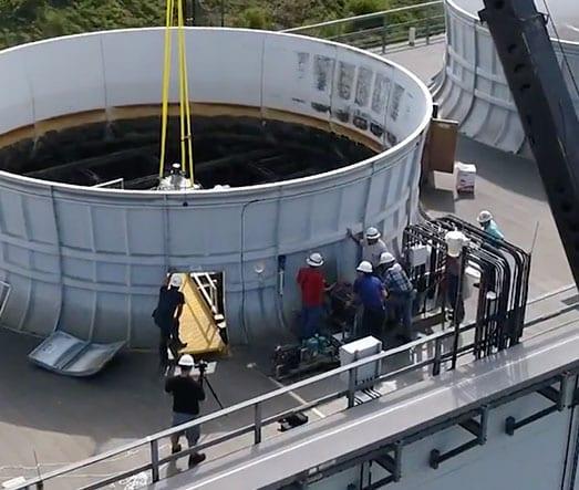 cooling tower repair gearreducer
