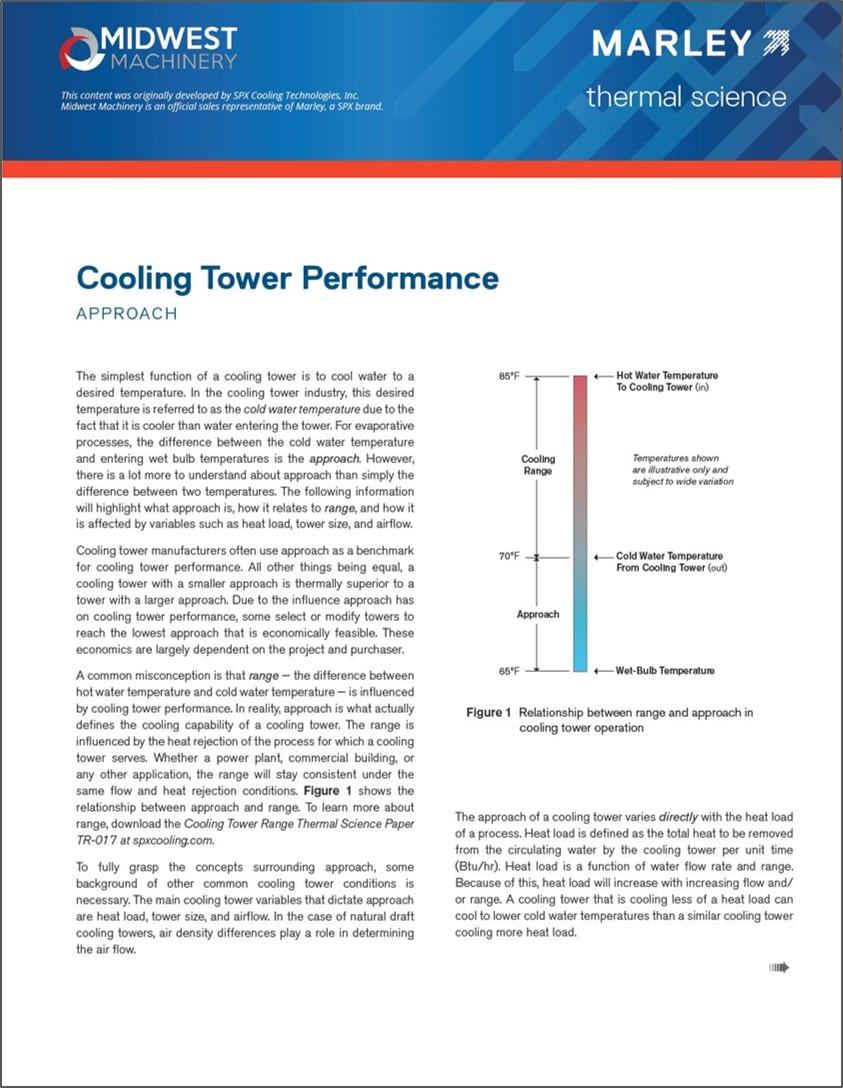 Download Our Cooling Tower Performance Guide Midwest