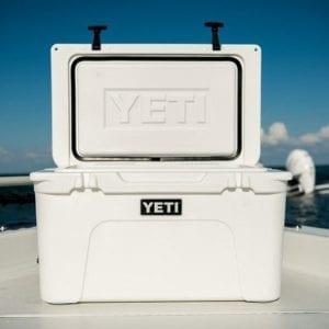 yeti tundra 45 on boat