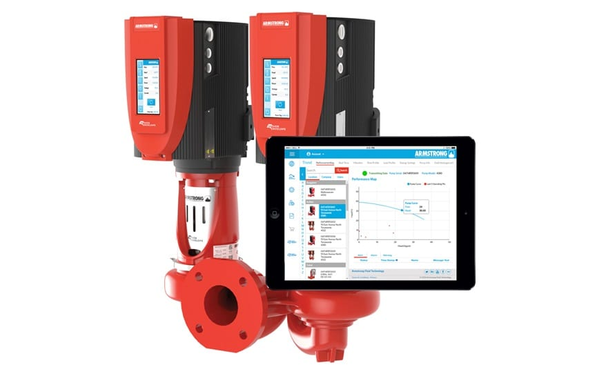 armstrong pump manager system for design envelope pumps