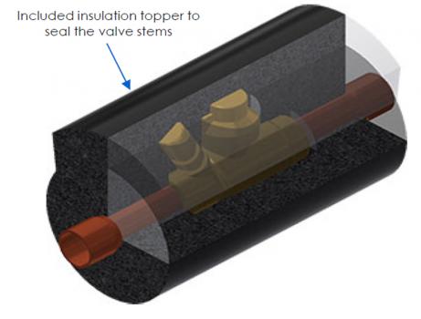 insulation topper